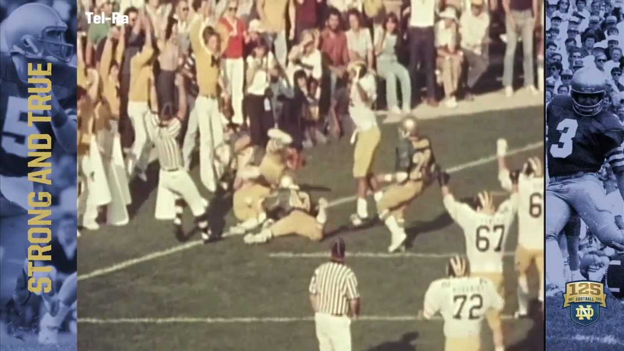 1980 vs. Michigan - 125 Years of Notre Dame Football - Moment #028