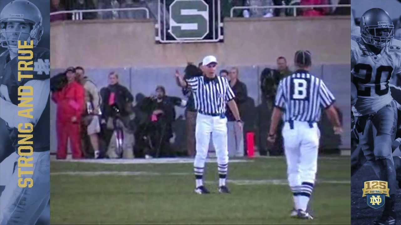 2006 vs. Michigan State - 125 Years of Notre Dame Football - Moment #021