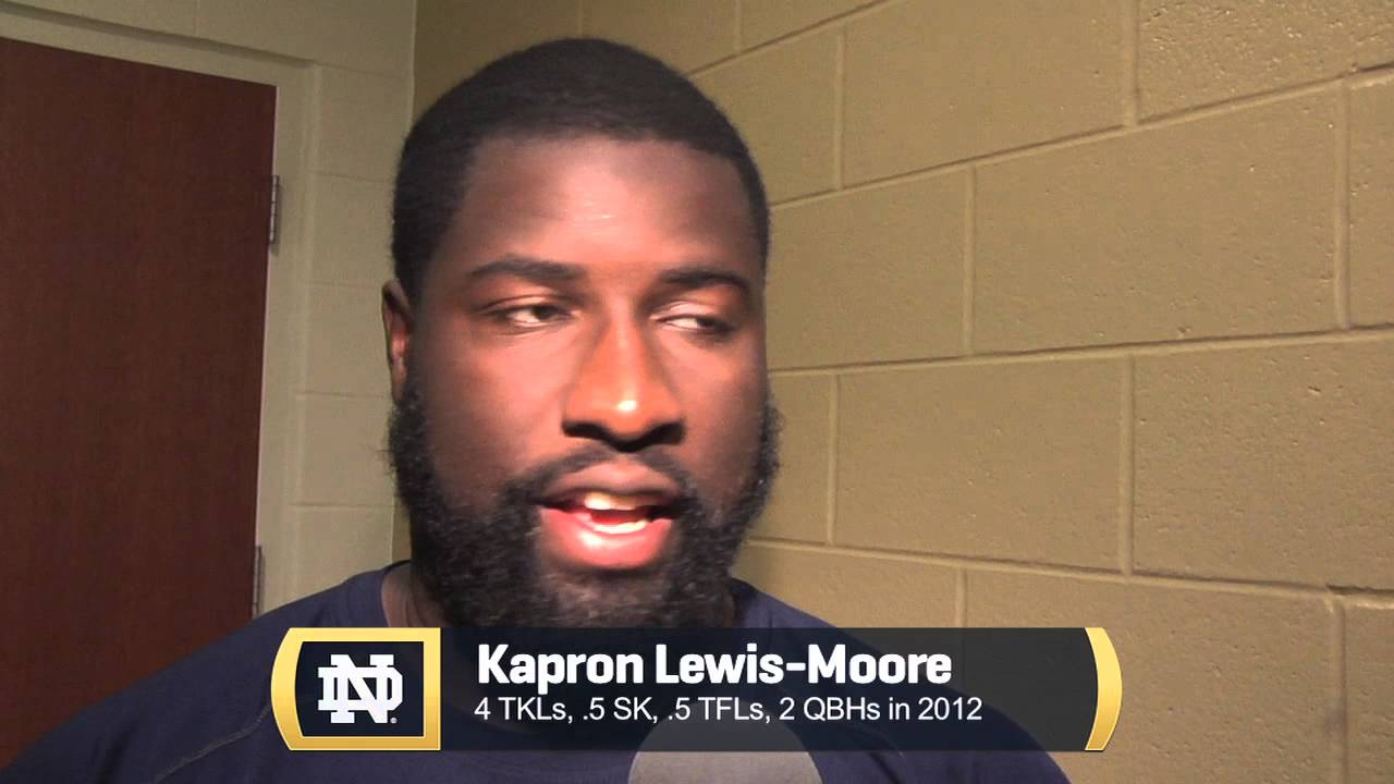 Locked In & Focused - Notre Dame Football Player Interviews