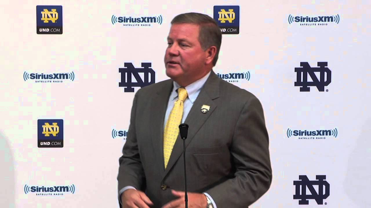 Coach Kelly Press Conference - Sept. 18 - Notre Dame Football