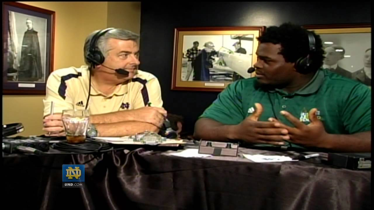 Louis Nix on the Brian Kelly Radio Show