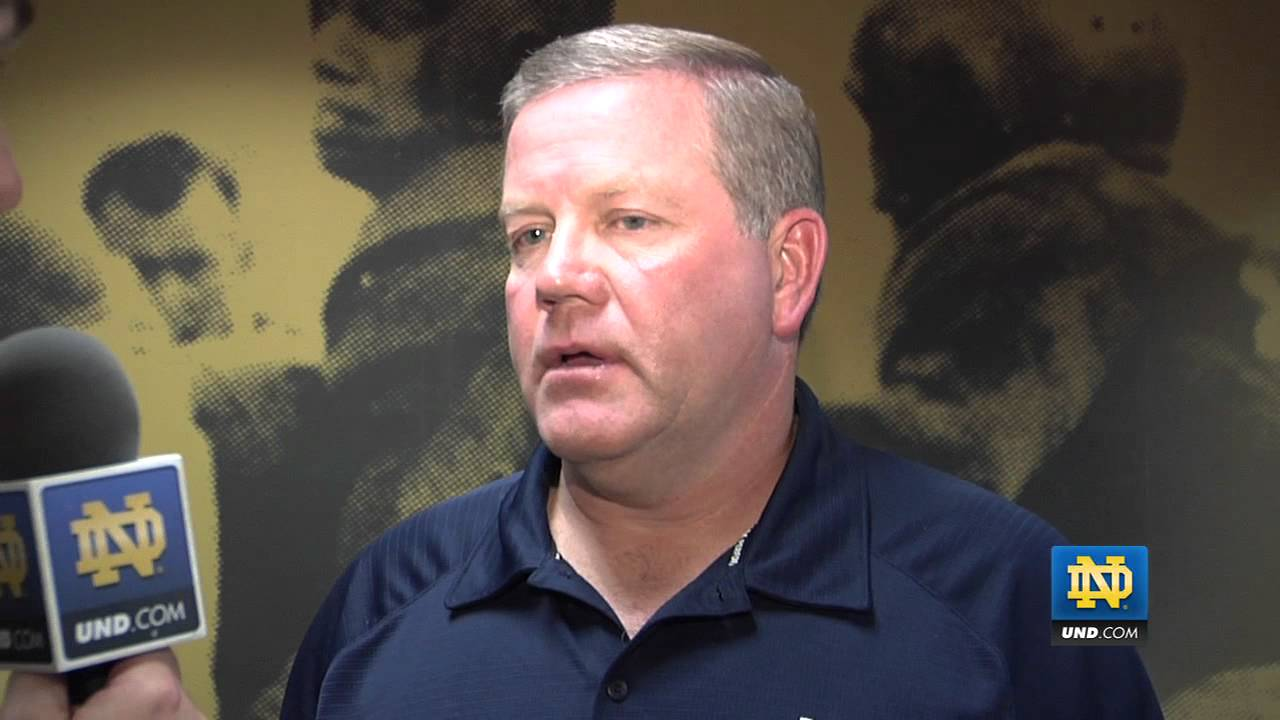 Brian Kelly - ACC Affiliation Reaction - Notre Dame Football