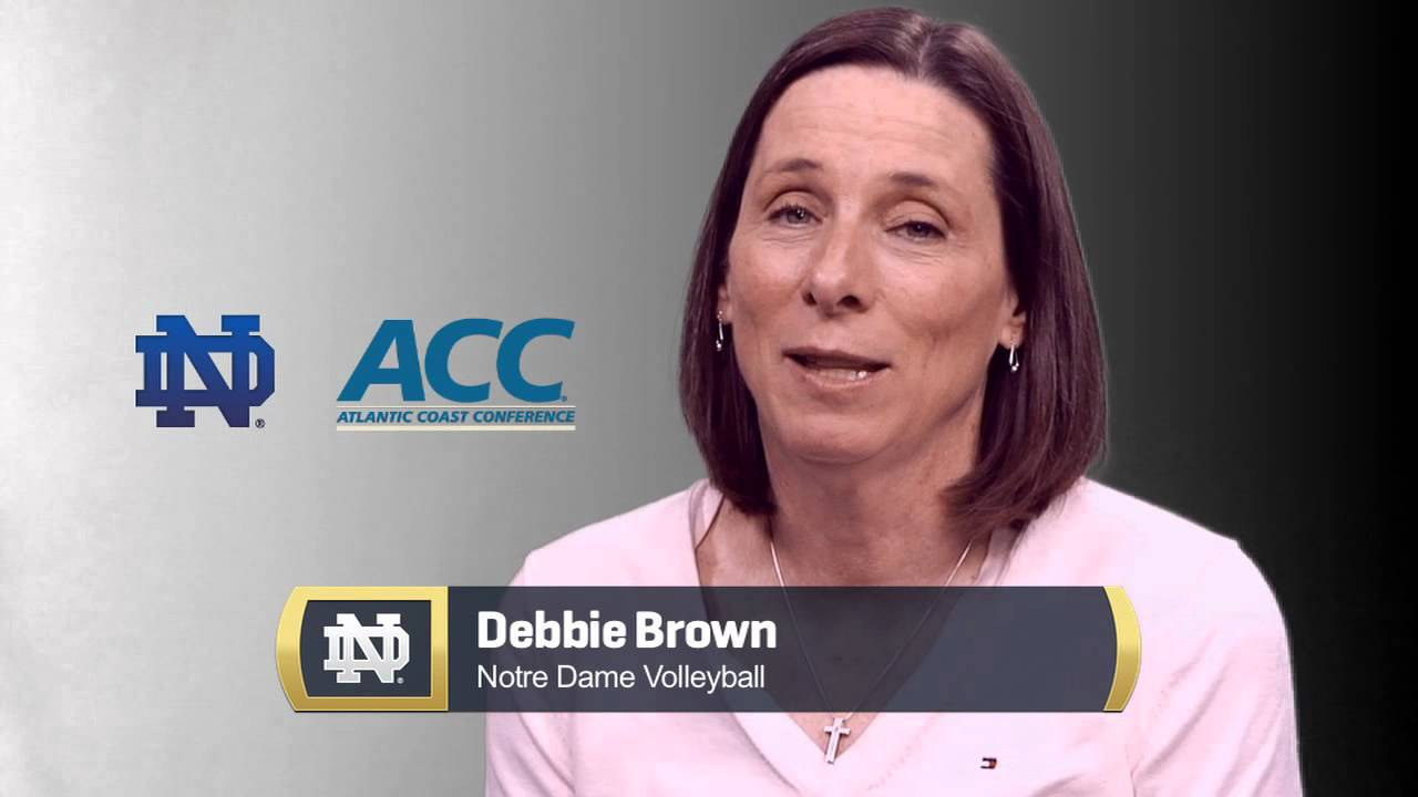 Debbie Brown - ACC Reaction - Notre Dame Volleyball