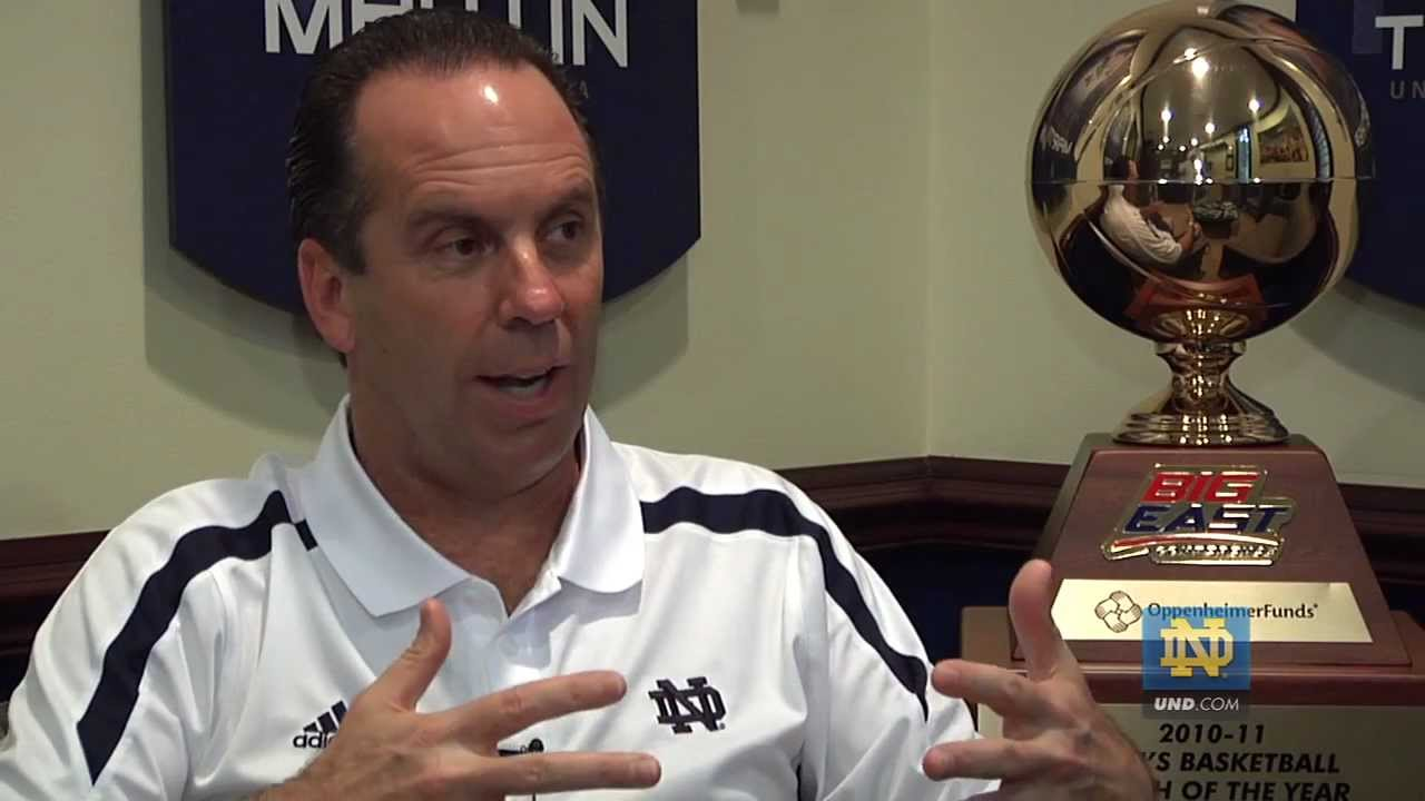 Mike Brey on 2012-13 Schedule - Notre Dame Basketball