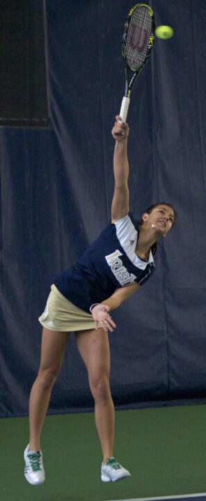 Britney Sanders will play in both the main singles and doubles draws Sunday