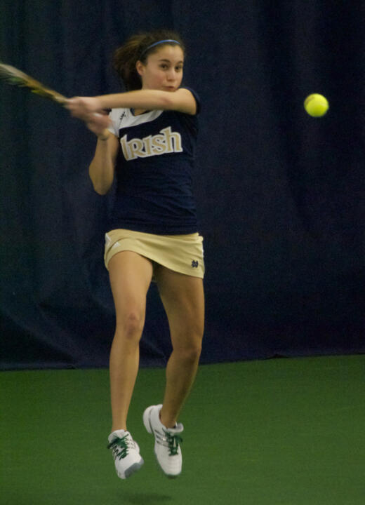 Julie Sabacinski and Britney Sanders will play for the USTA/ITA Midwest Regional Doubles Championship Monday