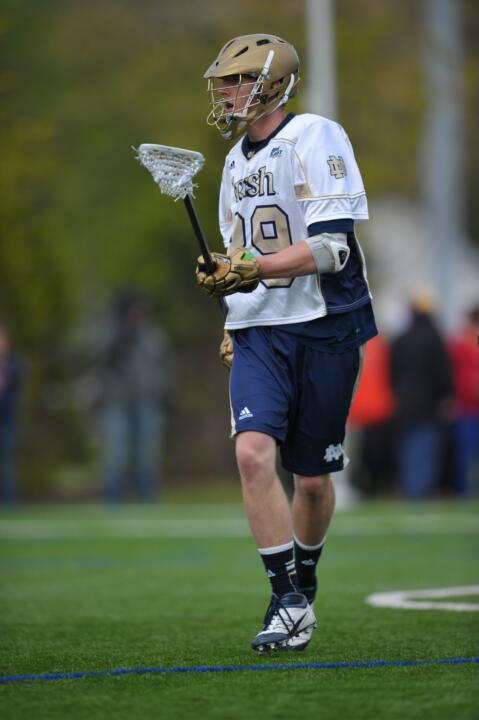 Kevin Randall copped first-team All-America honors during his senior season with the Irish.