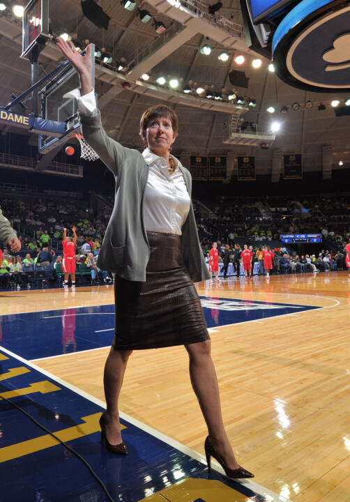 Women's basketball head coach Muffet McGraw begins her 26th season at Notre Dame in 2012-13, having led the Fighting Irish to the NCAA national championship game the past two seasons.