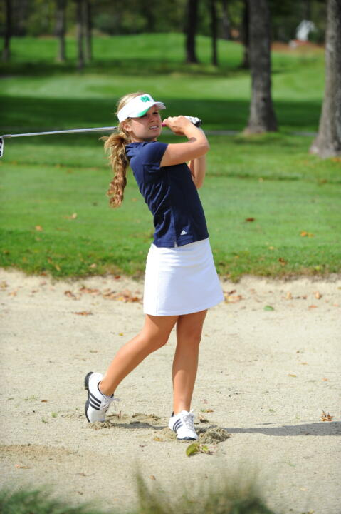 Freshman Lindsey Weaver is currently the No. 4 ranked player in the country by Golfweek