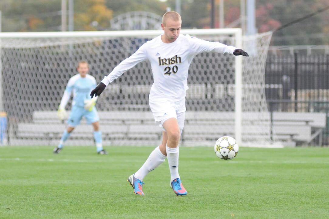 Central defender Grant Van De Casteele scored the game's first goal in last season's 4-0 win over Seton Hall.