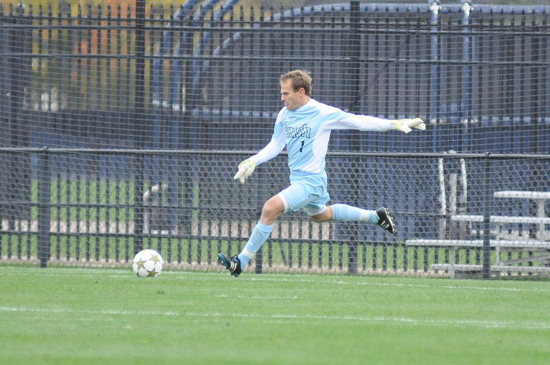 Junior Patrick Wall made four saves to pick up his third shutout of the season. Wall is 6-0 in goal this season.