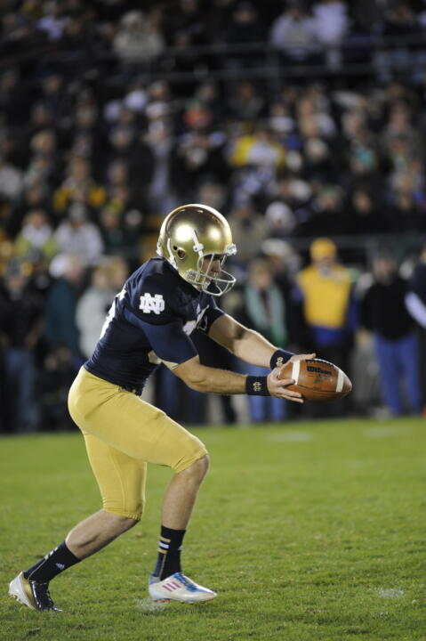 Since becoming the starting Irish punter during his freshman season in 2009, Ben Turk has averaged 39.2 yards per punt.