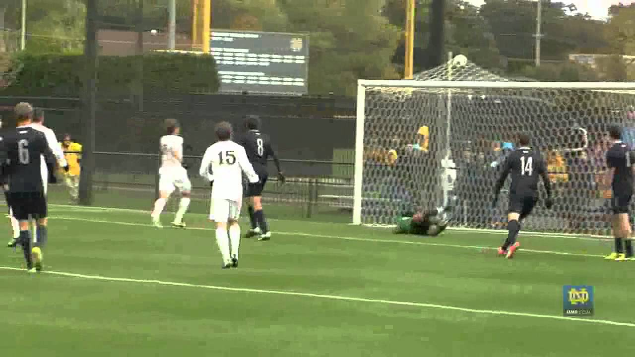 Irish Halt Hoyas - Notre Dame Men's Soccer