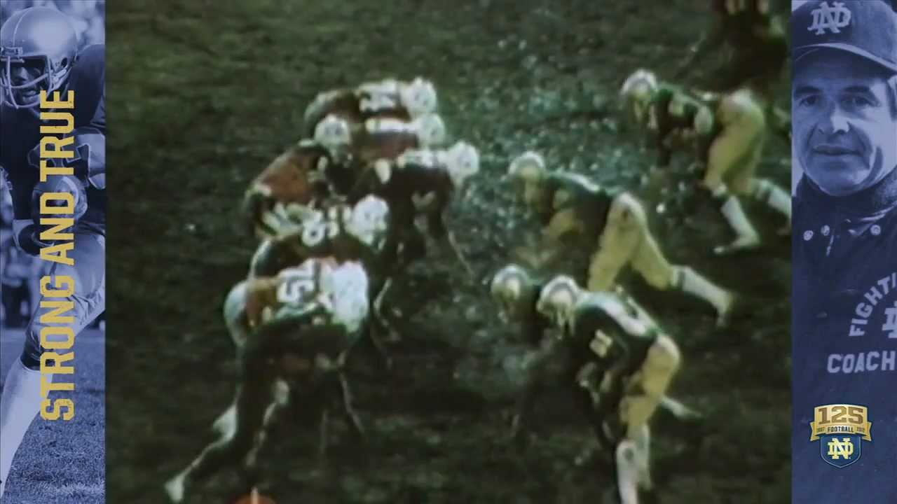 1979 Mirage Bowl - 125 Years of Notre Dame Football - Moment #038