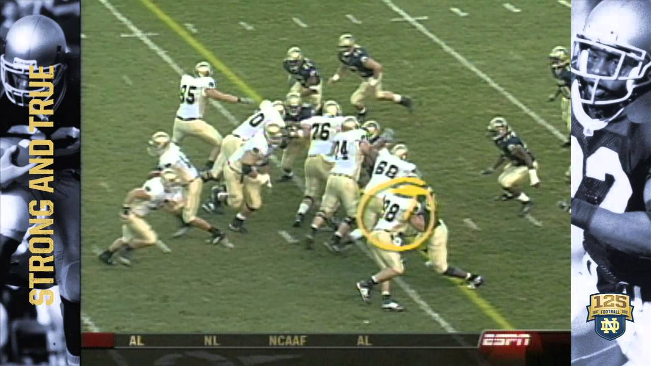 2003 at Pittsburgh - 125 Years of Notre Dame Football - Moment #069