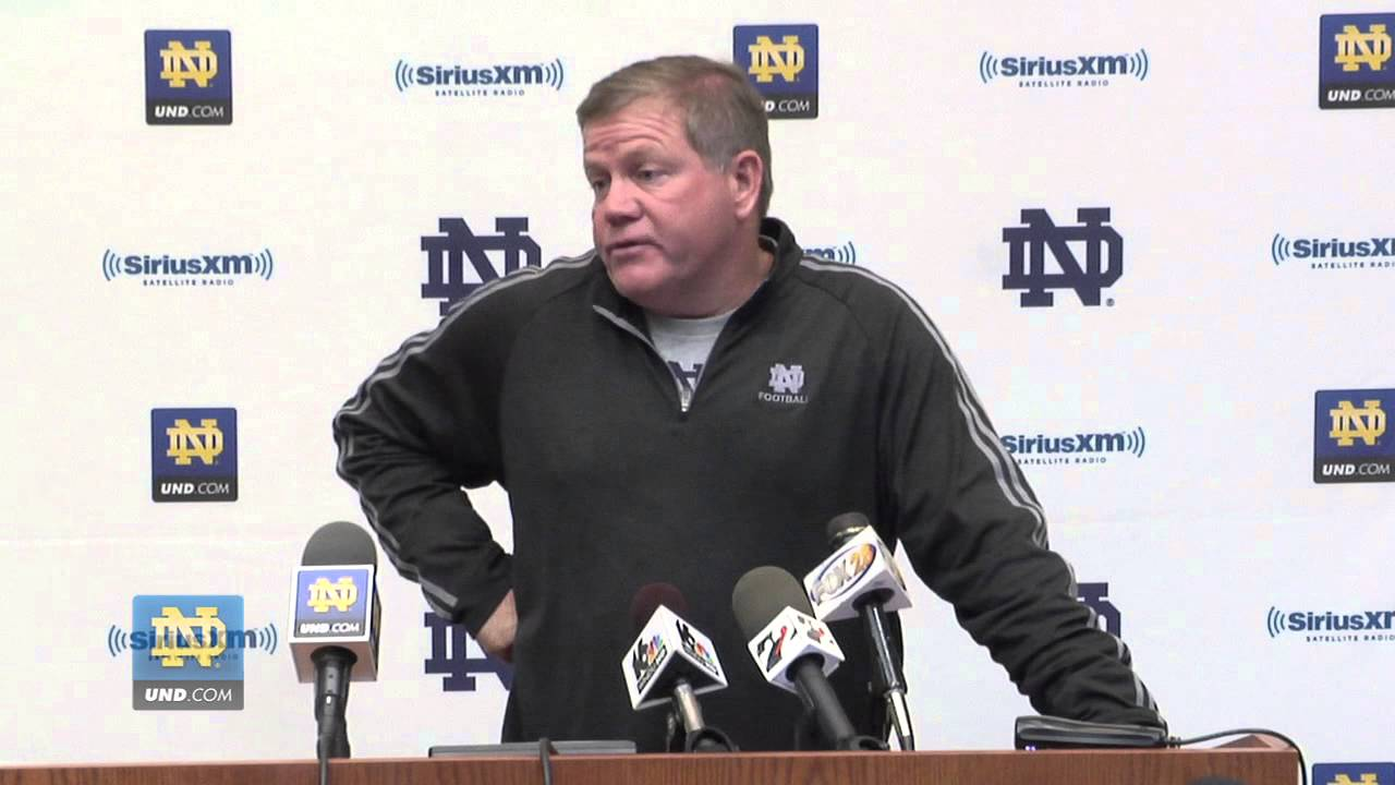 Coach Kelly Media Session - Oct. 25, 2012