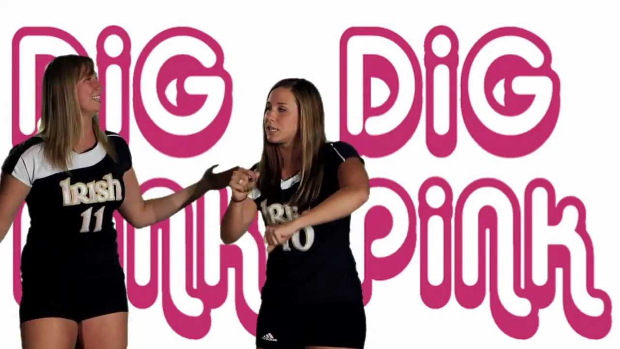 Notre Dame Volleyball - Dig Pink Karaoke (Oct. 26)
