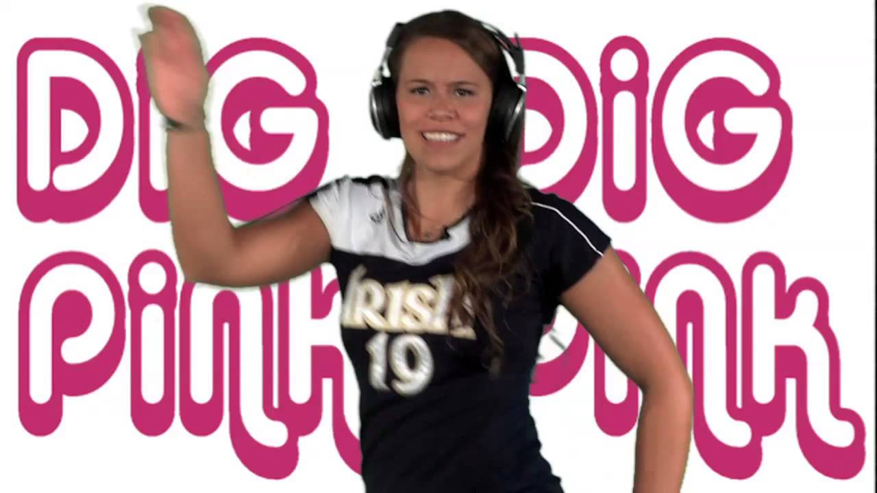 Notre Dame Volleyball - Dig Pink Karaoke (Oct. 25)