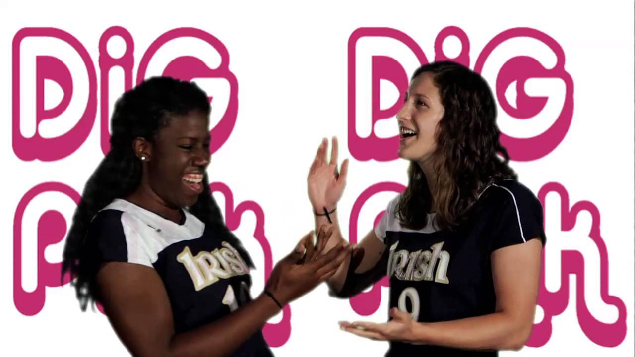 Notre Dame Volleyball - Dig Pink Karaoke (Oct. 24)