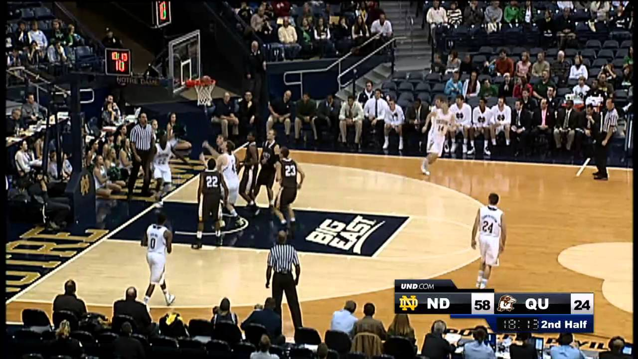 Notre Dame vs. Quincy Highlights - Men's Basketball