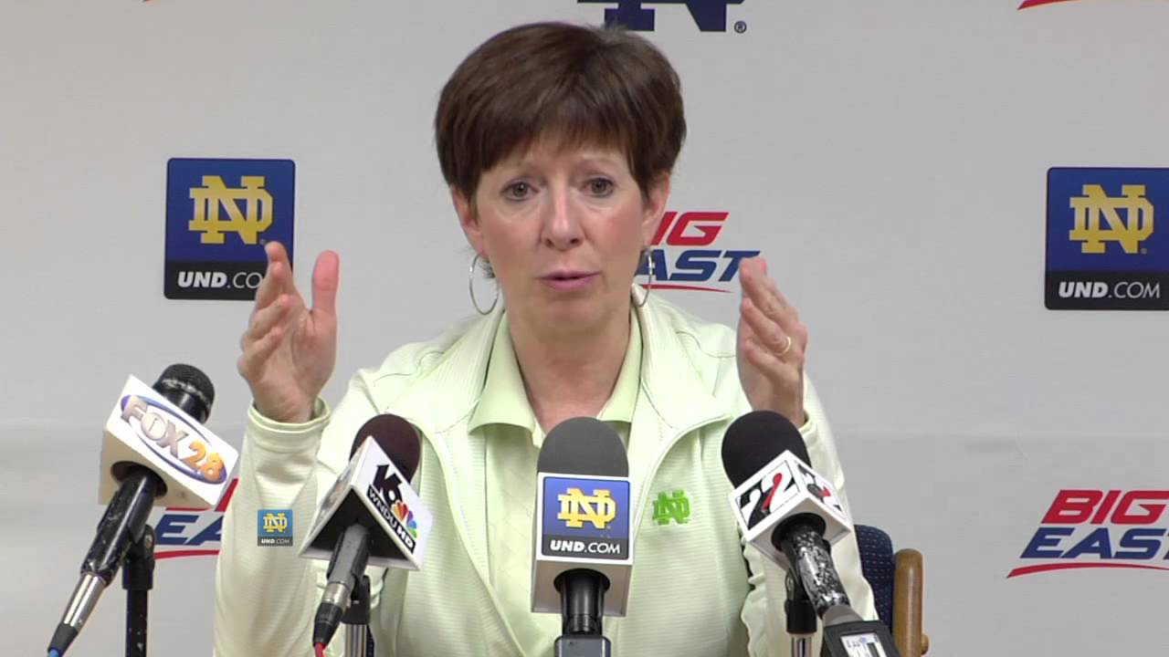 Muffet McGraw At Media Day - Notre Dame Womens Basketball