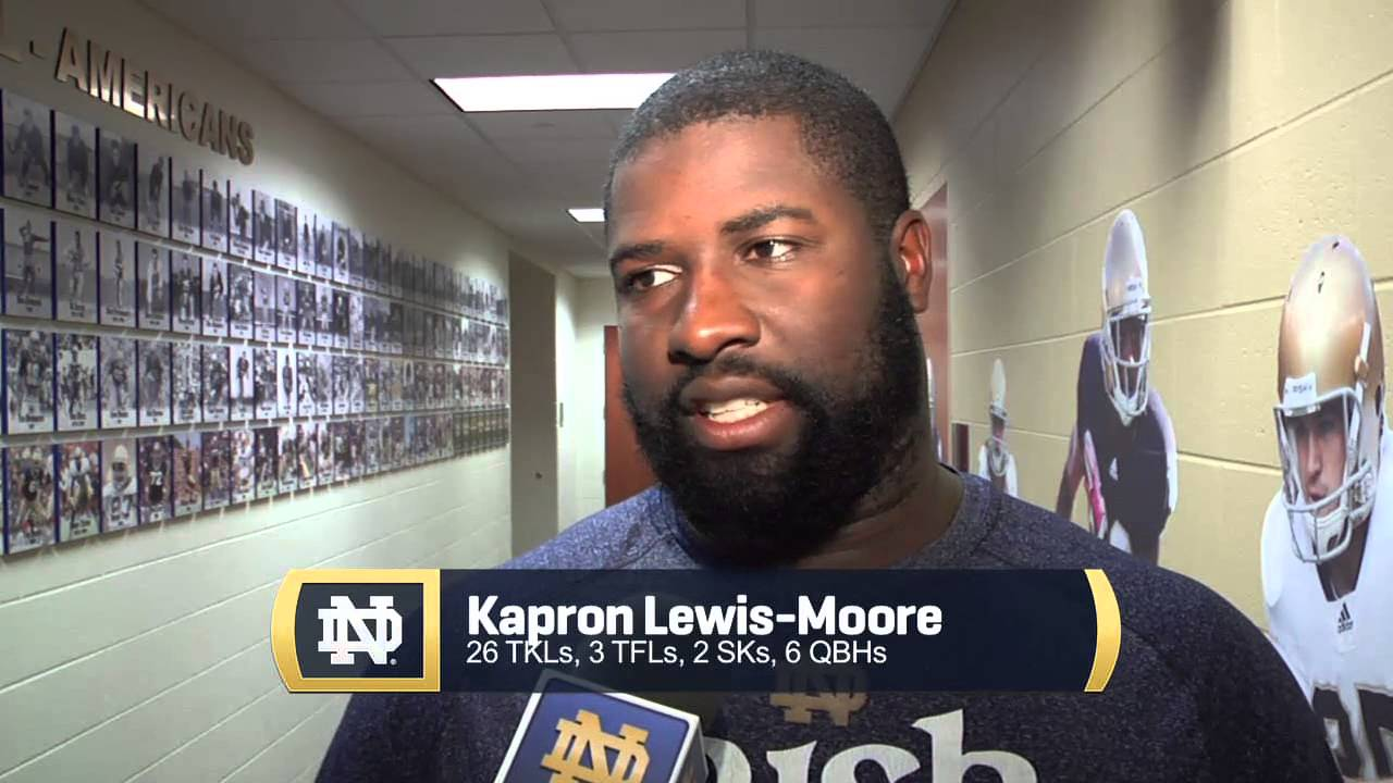 Players Post Practice, Pitt Week - Notre Dame Football