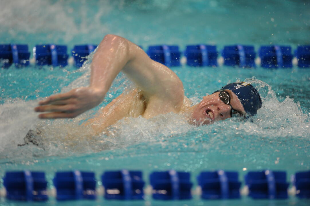 Frank Dyer won his second consecutive BIG EAST Athlete of the Week honor