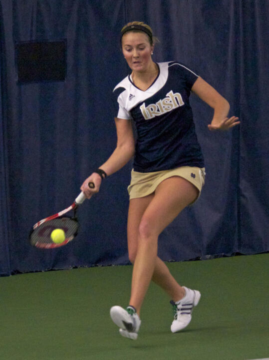 Katherine White and doubles partner Quinn Gleason will play for the championship in the second doubles draw Sunday