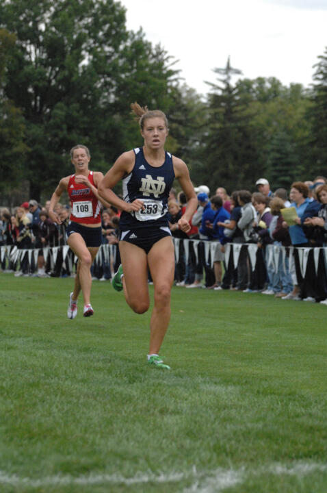 Junior Kelly Curran finished 10th to earn all-region accolades at Friday's NCAA Great Lakes Regional.