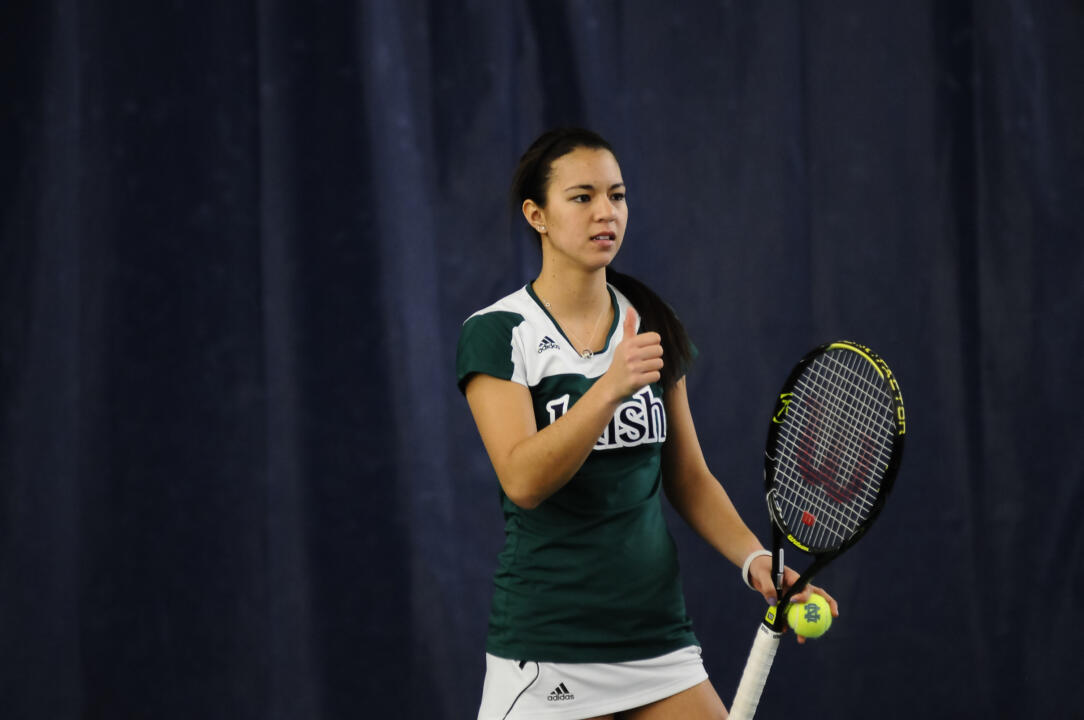 Junior Britney Sanders is a two-time BIG EAST Player of the Month this fall