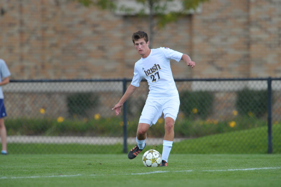 Freshman midfielder Patrick Hodan had a hand in Notre Dame's first three goals.