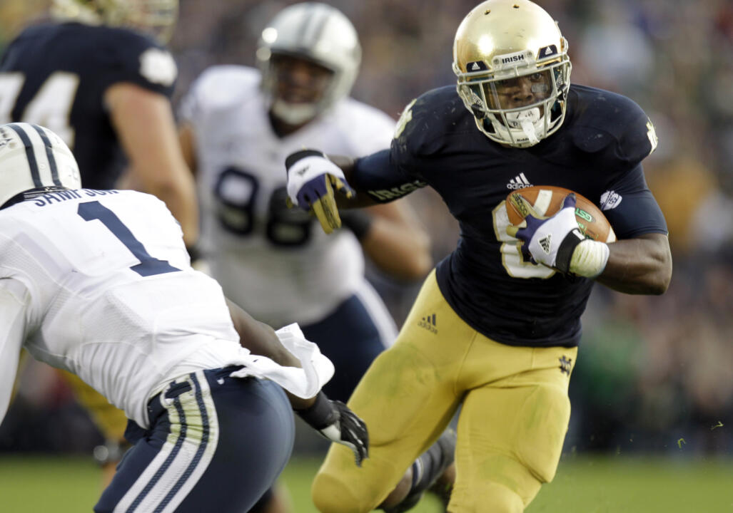 Notre Dame RB Theo Riddick