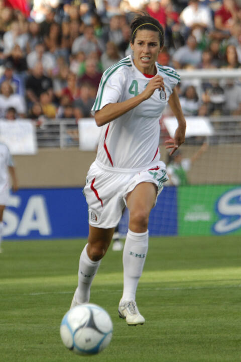 Monica Gonzalez was a founding member of the Mexican national team in 1999. She was captain of the squad from 2003-07 and was named to the FIFA World All-Star team in '07.