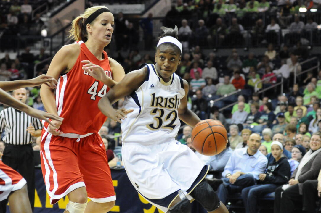 Freshman Jewell Loyd led the Irish with 19 points and also chipped in seven rebounds and five assists.