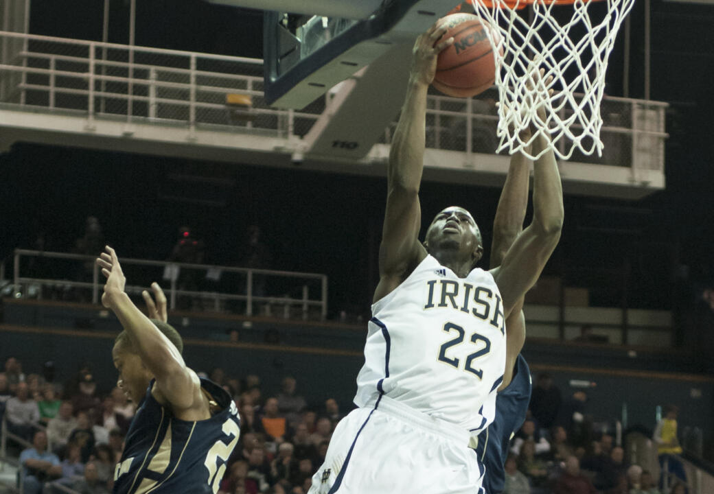 Jerian Grant netted 13 points in the win, which improved Notre Dame to 4-1 this season.
