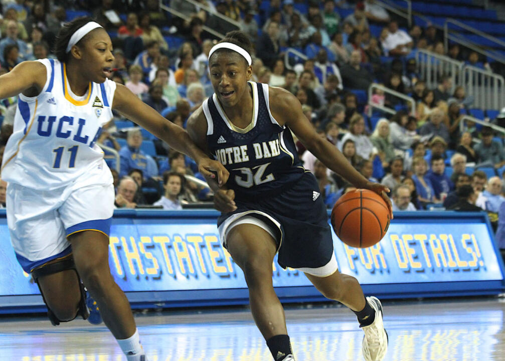 Rookie guard Jewell Loyd was named the BIG EAST Freshman of the Week on Monday after averaging 19.0 points, 6.5 rebounds, 5.0 assists and 2.0 steals per game with a .727 field goal percentage and .600 three-point percentage last week in wins over Mercer and No. 19/22 UCLA.