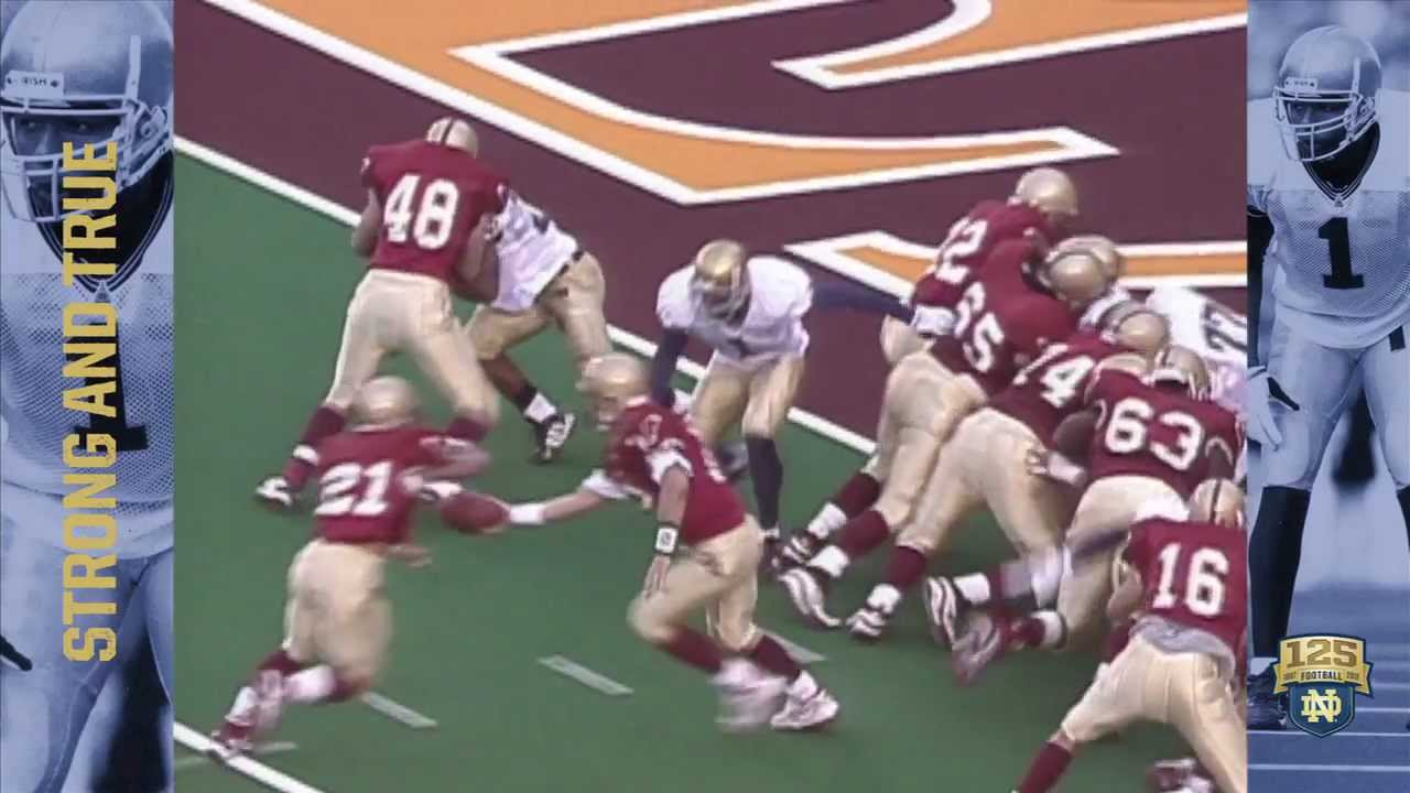 1998 at Boston College - 125 Years of Notre Dame Football - Moment #075