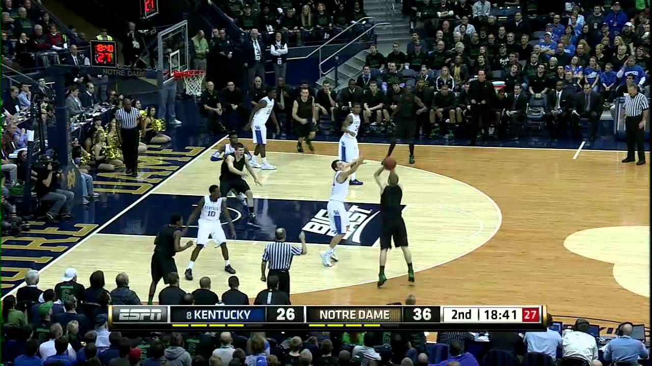 Irish Handle #8 Kentucky - Notre Dame Men's Basketball