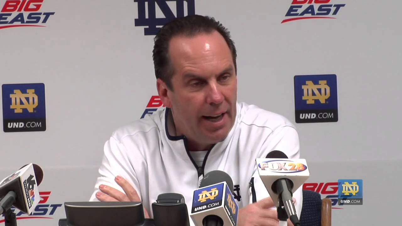 Mike Brey, 11/14/12 Press Conference - Notre Dame Men's Basketball