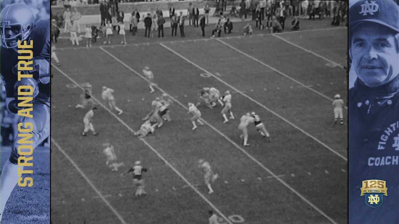 The Real Rudy 125 Years Of Nd Football Moment 084 Notre Dame Fighting Irish Official Athletics Website