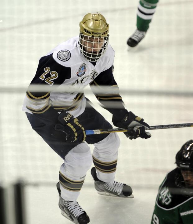Freshman Mario Lucia was named the CCHA Gongshow Rookie of the Week for the second consecutive week.