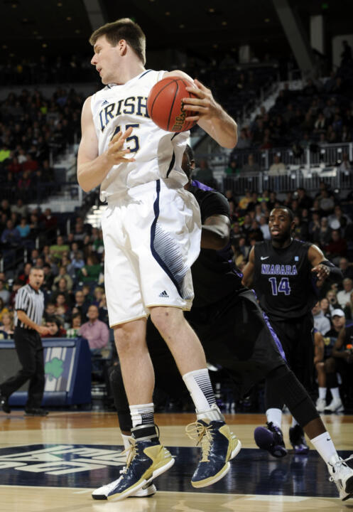 Jack Cooley is second nationally with nine double-doubles.