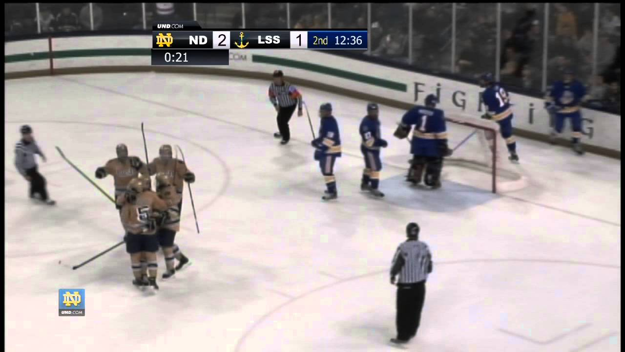 Irish Take Game One Against Lakers - Hockey