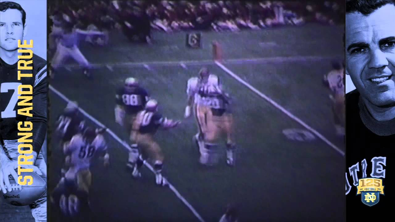 1973 vs. Southern Cal - 125 Years of Notre Dame Football - Moment #094