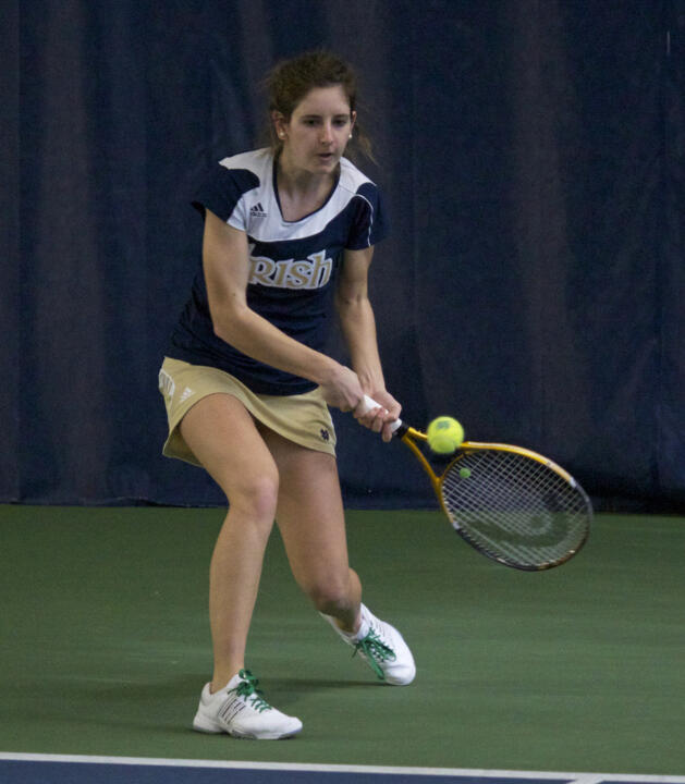 Junior Jennifer Kellner earned a 6-4, 6-3 win over Bowling Green's Nikki Chiricosta Friday
