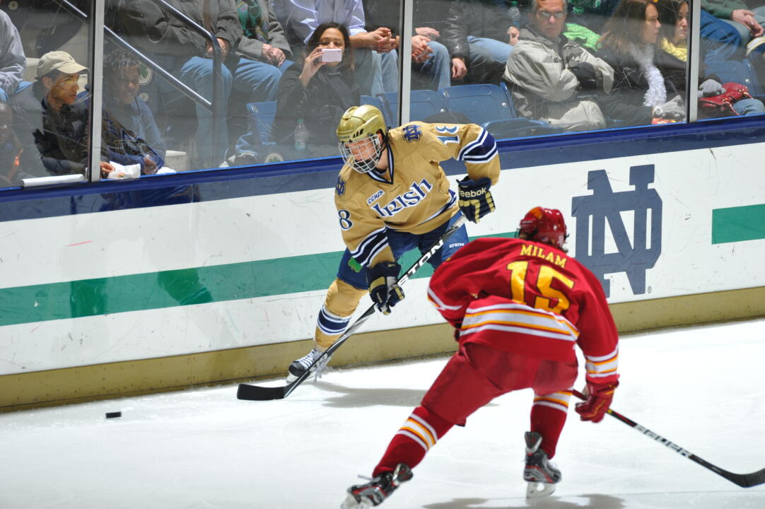 T.J. Tynan and the Irish face off against Ferris State this weekend.
