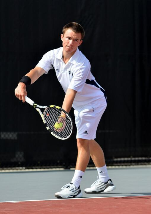 Junior Greg Andrews earned BIG EAST Men's Tennis Player of the Week honors for the fourth time in his career Tuesday.