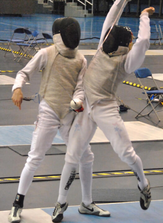 Notre Dame was the only program to place both men's and women's teams in the first CollegeFencing360 Coaches Poll