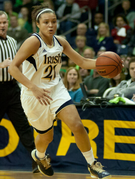 Notre Dame junior guard Kayla McBride has been selected as the espnW National Player of the Week and the BIG EAST Conference Player of the Week, both outlets announced Monday.