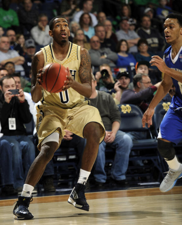 Junior point guard Eric Atkins is a key reason why Notre Dame ranks first nationally in assists per game (19.5).